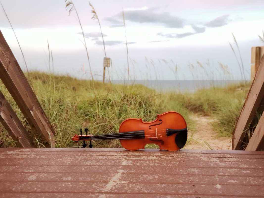 destination wedding, destination event, ocean, violin, savannah, tybee island wedding