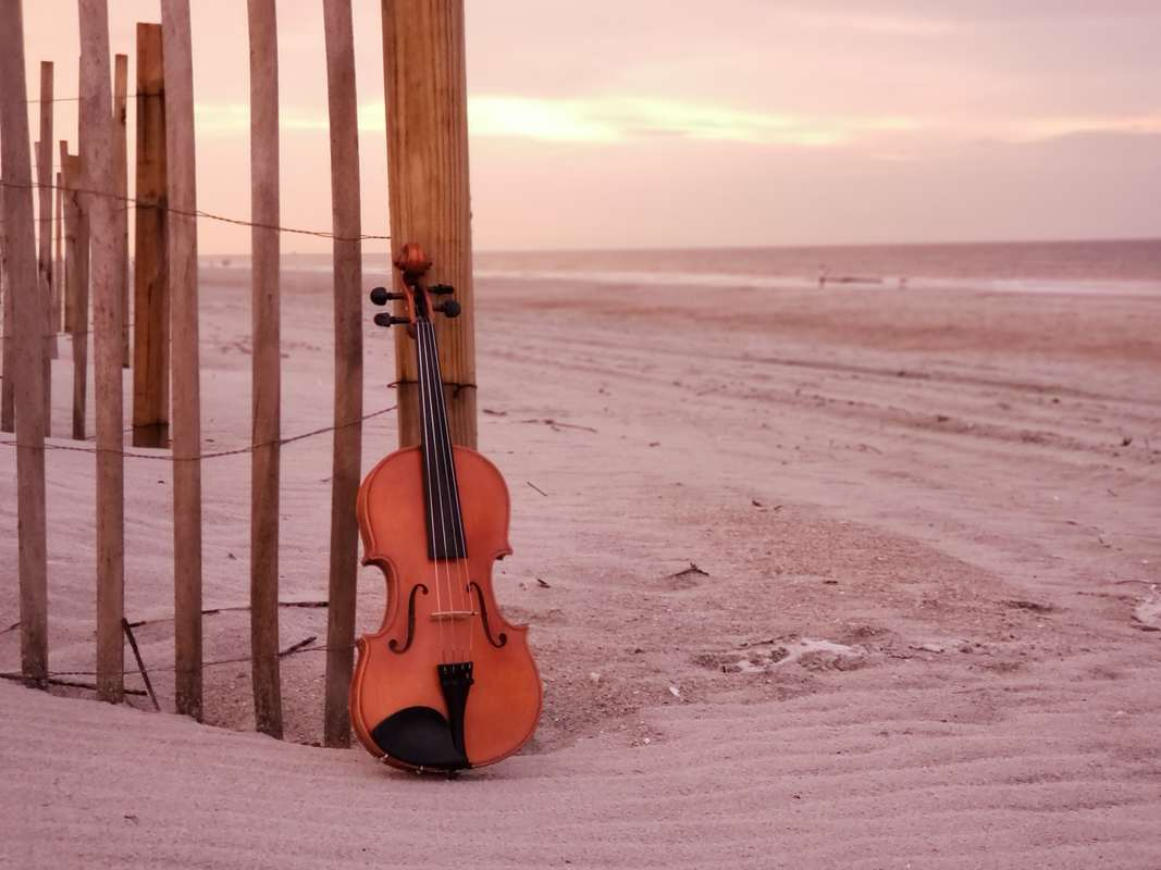 destination wedding, destination event, ocean, violin, bahamas, carribean wedding