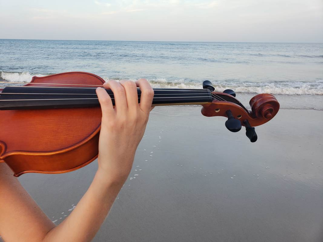 destination wedding, destination event, ocean, violin, amelia island, beach wedding, st. simon's island