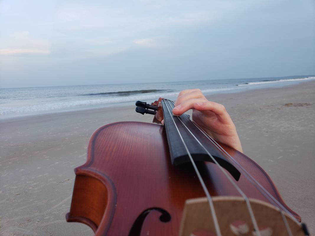 destination wedding, destination event, ocean, violin